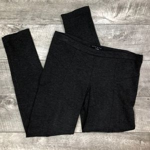 Theory Leggings in Dark Charcoal Gray size Small